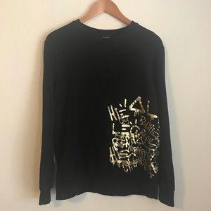Alec Monopoly Forever 21 Metallic Sweatshirt
